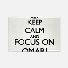 Keep Calm and Focus on Omari Magnets