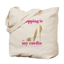 Shopping is my Cardio 2 Tote Bag