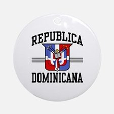 Republica Dominicana Ornament (Round)