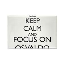 Keep Calm and Focus on Osvaldo Magnets