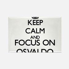 Keep Calm and Focus on Osvaldo Magnets