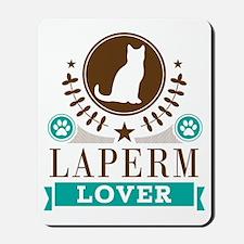 Laperm Cat Lover Mousepad