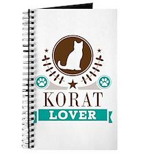 Korat Cat Lover Journal