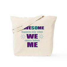 self-employed inspirational Tote Bag