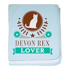 Devon Rex Cat baby blanket