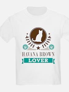 Havana Brown Cat T-Shirt