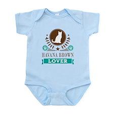 Havana Brown Cat Infant Bodysuit