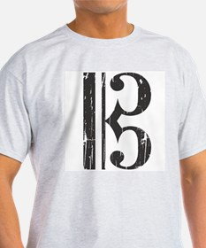 Distressed Alto Clef C- T-Shirt