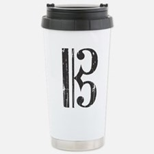 Distressed Alto Clef C- Travel Mug