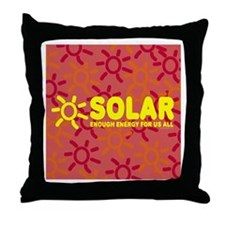 Solar - Energy For All Throw Pillow