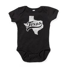 Cute Texas girl Baby Bodysuit