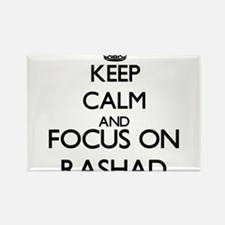 Keep Calm and Focus on Rashad Magnets
