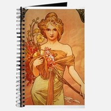 Cute Art nouveau Journal