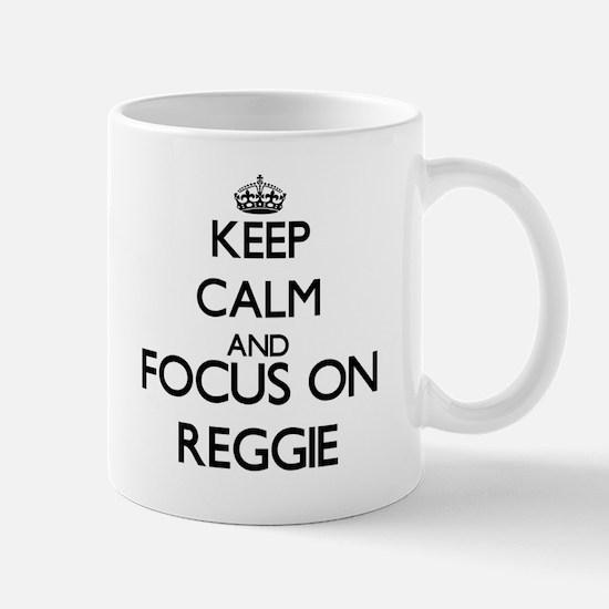 Keep Calm and Focus on Reggie Mugs