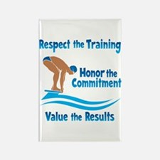 VALUE SWIMMING Rectangle Magnet