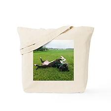 Chillin Bull Tote Bag