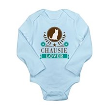 Chausie Cat Lover Long Sleeve Infant Bodysuit