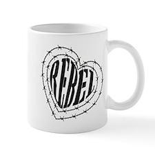 REBEL HEART BARB Mug