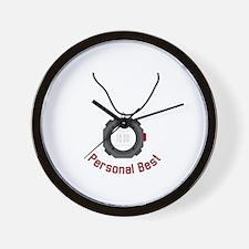 Personal Best Wall Clock