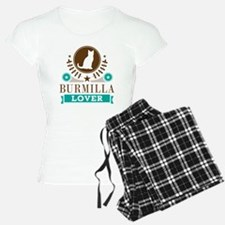 Burmilla Cat Lover Pajamas