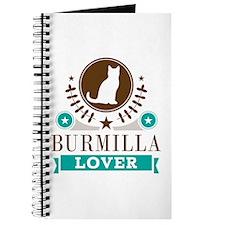 Burmilla Cat Lover Journal
