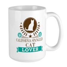 California Spangled Cat Mug