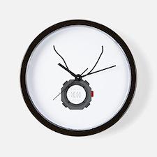 Sports Stop Watch Wall Clock