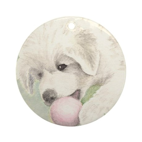 Great Pyrenees Ornament [rd] PuppyBall