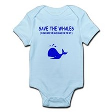 Saving the Whales Infant Bodysuit
