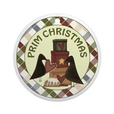 PRIM CROW Ornament (Round)