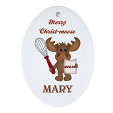 PERSONALIZED Ornament (Oval)