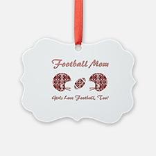 FOOTBALL MOM Ornament