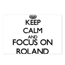 Keep Calm and Focus on Ro Postcards (Package of 8)