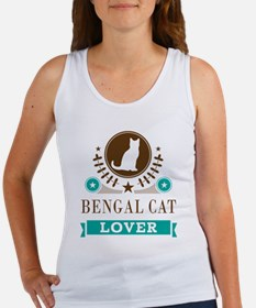 Bengal Cat Lover Women's Tank Top