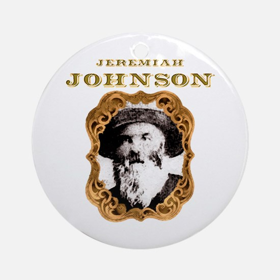 Jeremiah Johnson Ornament (Round)