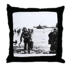 Unique World war ii Throw Pillow