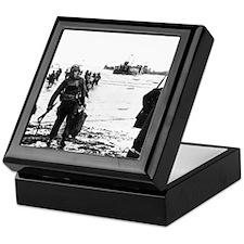 Cute World war ii veteran Keepsake Box
