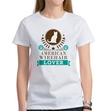 American Wirehair Cat Tee