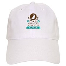 American Wirehair Cat Baseball Cap
