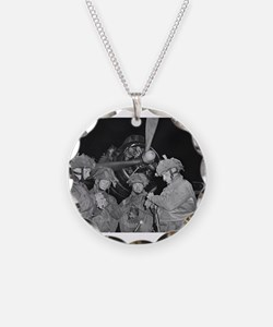 Cute World militaries Necklace