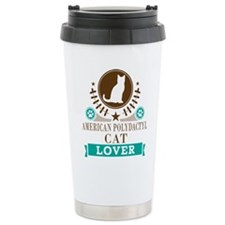 American Polydactyl Cat Travel Mug