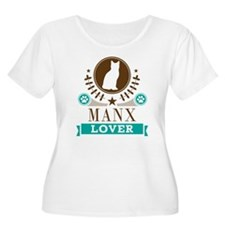 Manx Cat Love T-Shirt