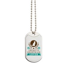 American Shorthair Cat Dog Tags