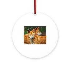 dingo Ornament (Round)