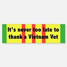 Thank a Vet Sticker (Bumper)