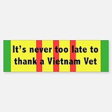 Vietnam Vet Bumper Bumper Sticker