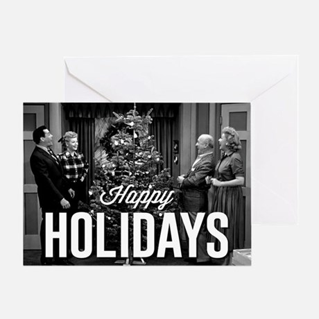 Lucy Happy Holidays Greeting Card