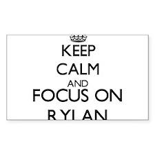 Keep Calm and Focus on Rylan Decal
