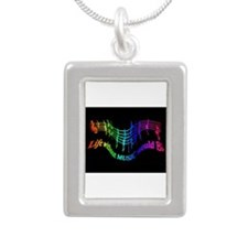 Life Without Music Would B Flat Humor Necklaces