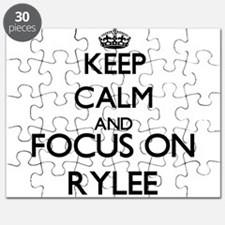 Keep Calm and Focus on Rylee Puzzle